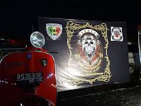 Vespa Antique Club Lamsel Kemas Acara KENDURI dengan Baksos