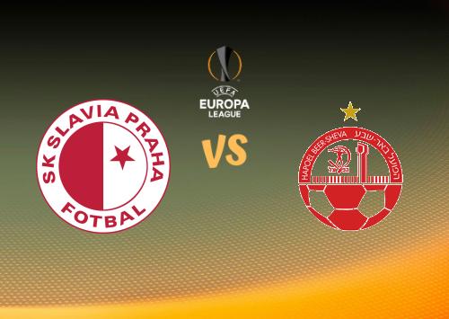 Slavia Praha vs Hapoel Be'er Sheva  Resumen