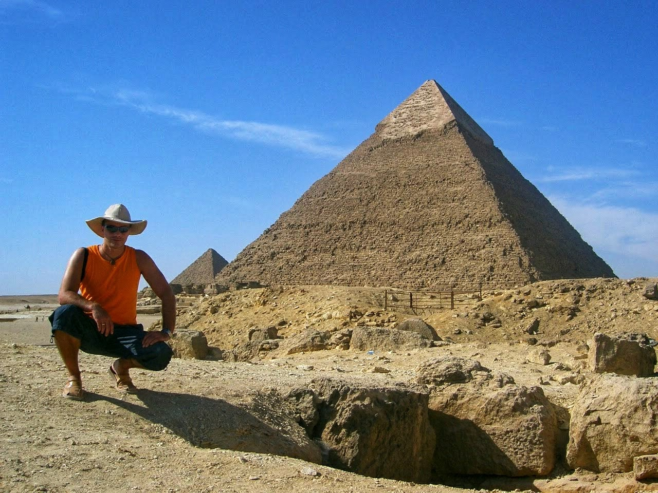 Explanada de las pirámides