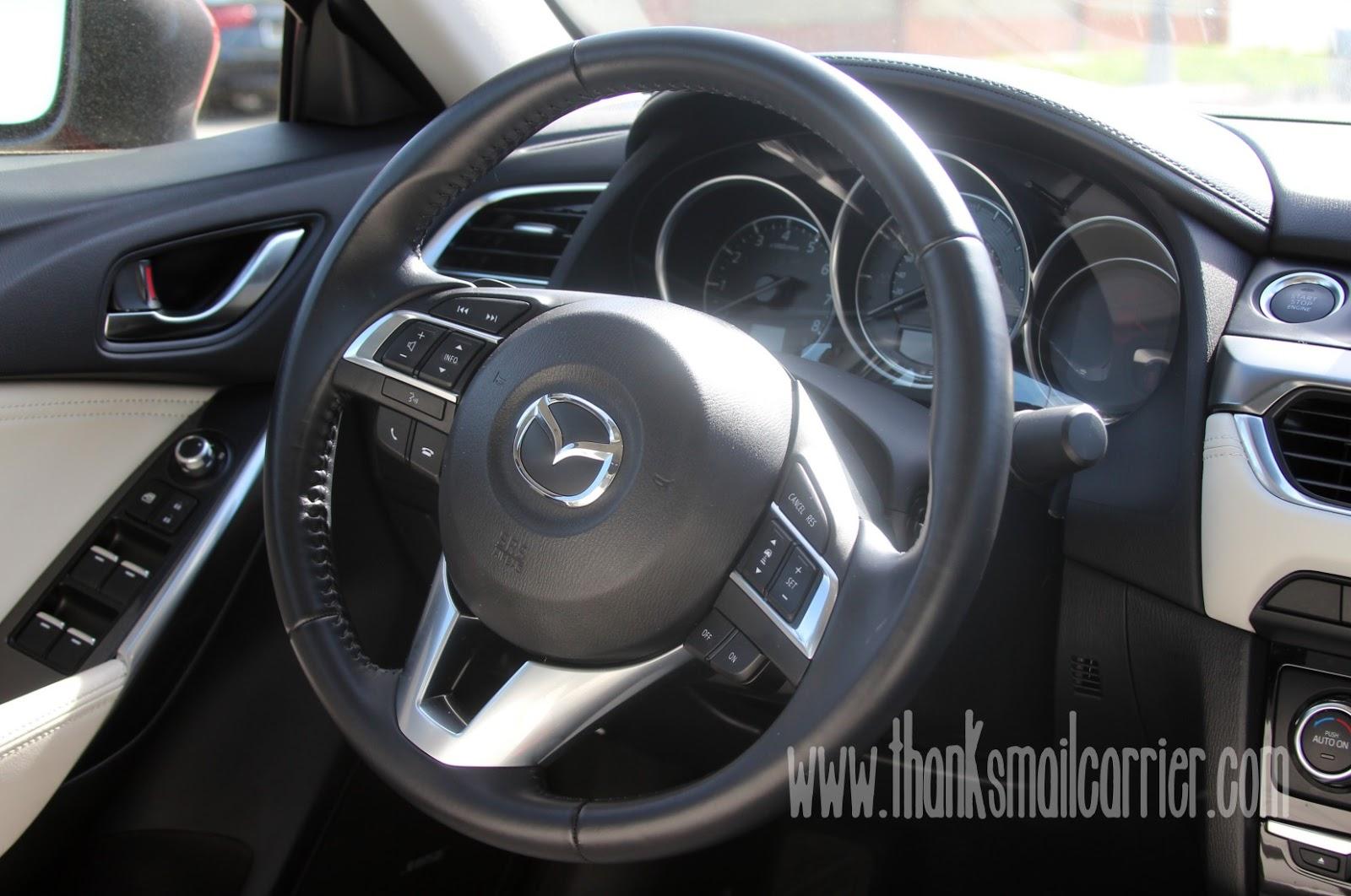 2016 Mazda6 controls