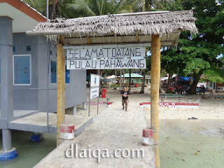 selamat datang Pulau Pahawang