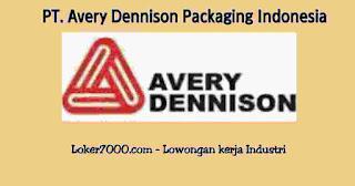 Lowongan Kerja PT Avery Dennison Packaging Indonesia  Cikarang Via Email Terbaru
