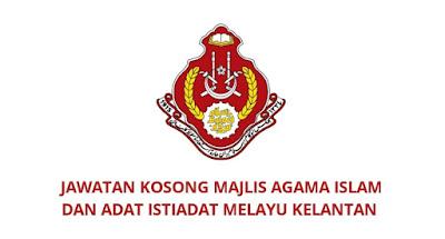 Jawatan Kosong MAIK 2020 Majlis Agama Islam dan Adat Istiadat Melayu Kelantan