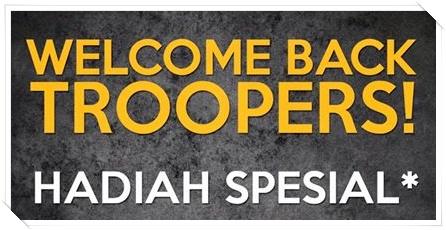 Event Welcome Back Troper