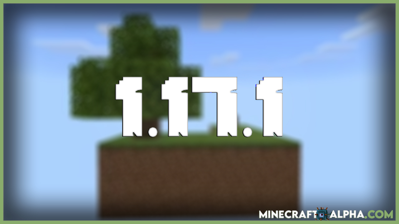 Minecraft 1.17.1 SkyBlock Map (Floating Island, Survive)