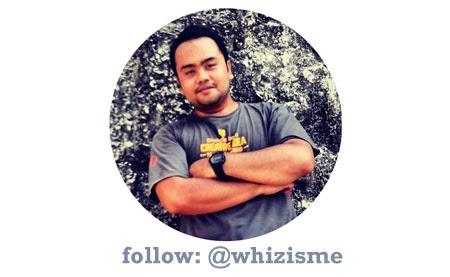 follow @whizisme