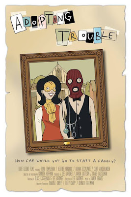 Adopting Trouble Poster