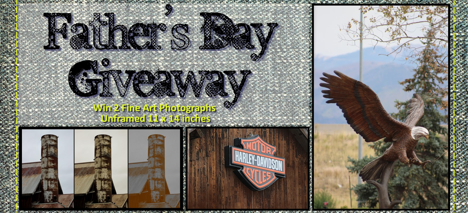 Father's Day Giveaway Sweepstakes - Two 11 x 14 Fine Art Prints