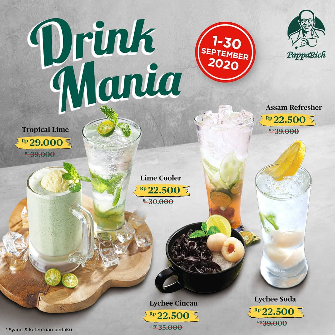 Promo Pappa Rich Terbaru 1 - 30 September 2020