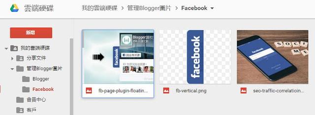 google-drive-blogger-folder-PICASA 關閉之後, Blogger 要如何管理圖片?
