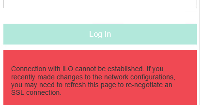 vCloudNotes : Information Sharing: How to reset HP iLO over