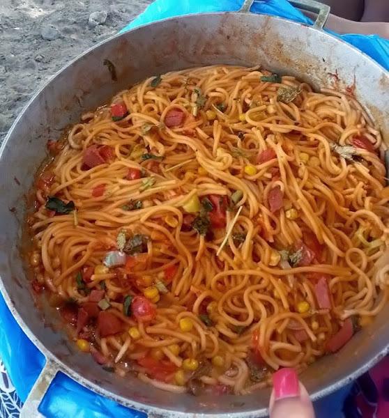 Cocina Dominicana Espaguetis A La Criolla