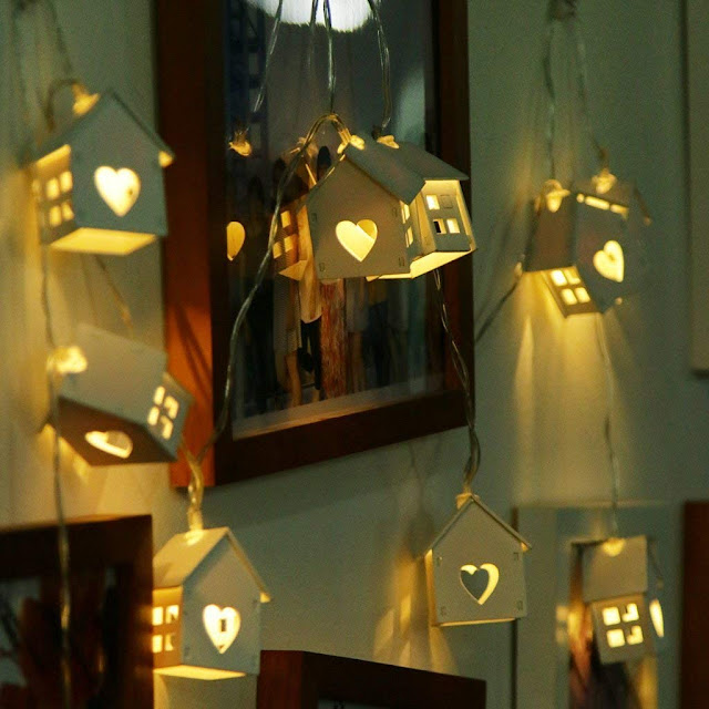 Wood House Decoration Lights