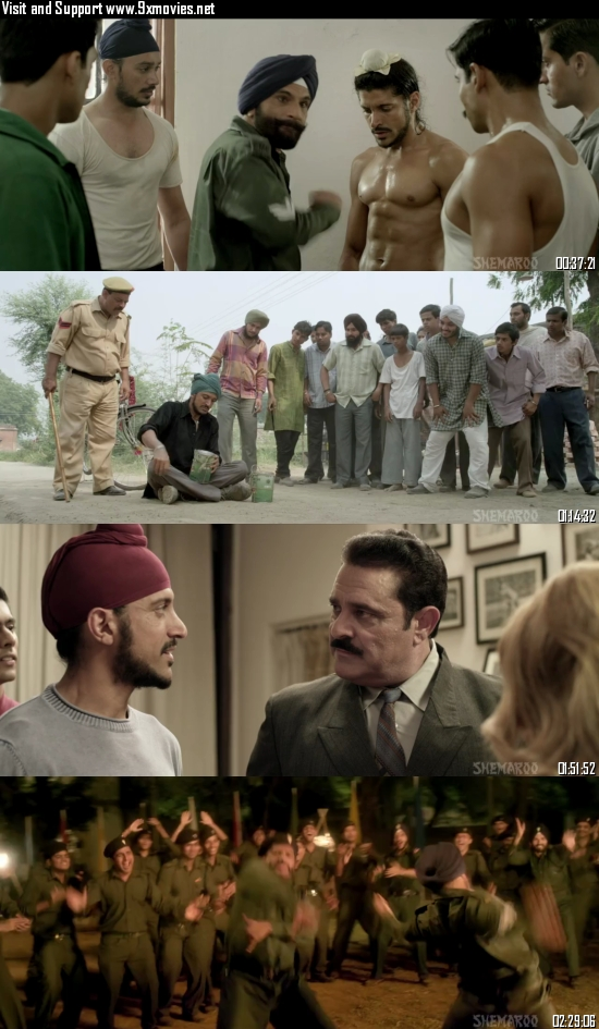 Bhaag Milkha Bhaag 2013 Hindi 720p 480p pDVDRip x264 Full Movie