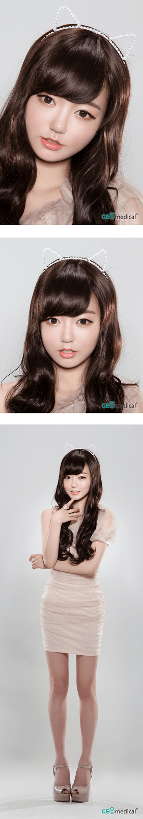 Geo HoliCat Lovely Cat Choco Circle Lenses (Colored Contacts)