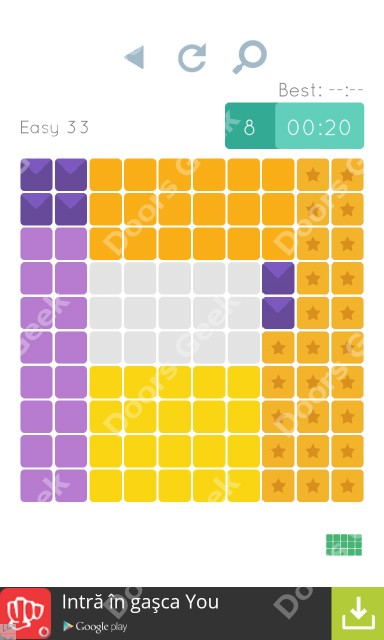Cheats, Walkthrough for Blocks and Shapes Level 33