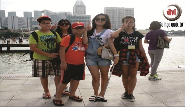 Thăm vịnh Marina Bay Sands, Singapore