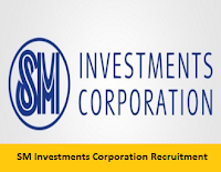 SM Investments Corporation Recruitment 2017-2018