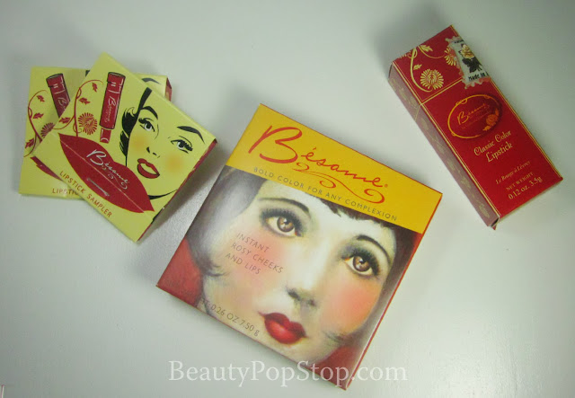 Besame Cosmetics Swatches and Review Vintage Makeup