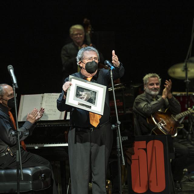 Ricard Gili, Tòfol Trepat, Albert Romaní i Jordi Casanovas, de la Locomotora Negra, Teatro Victoria Eugenia, Donostia
