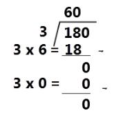 180 ÷ 3 = 60 www.simplenews.me