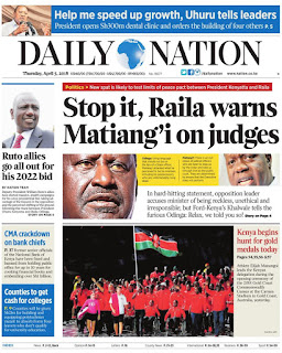 Daily Nation Today