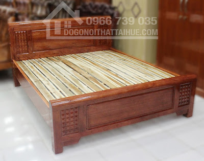 Mua giường ngủ ở Huế, Mua giường ngủ ở Đà Nẵng, Giường gỗ xoan đào, dogonoithattaihue.com, dogonoithattaihue