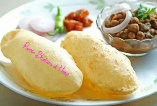Paneer Stuffed Bhatura Recipe – Paneer Bhatura at Home