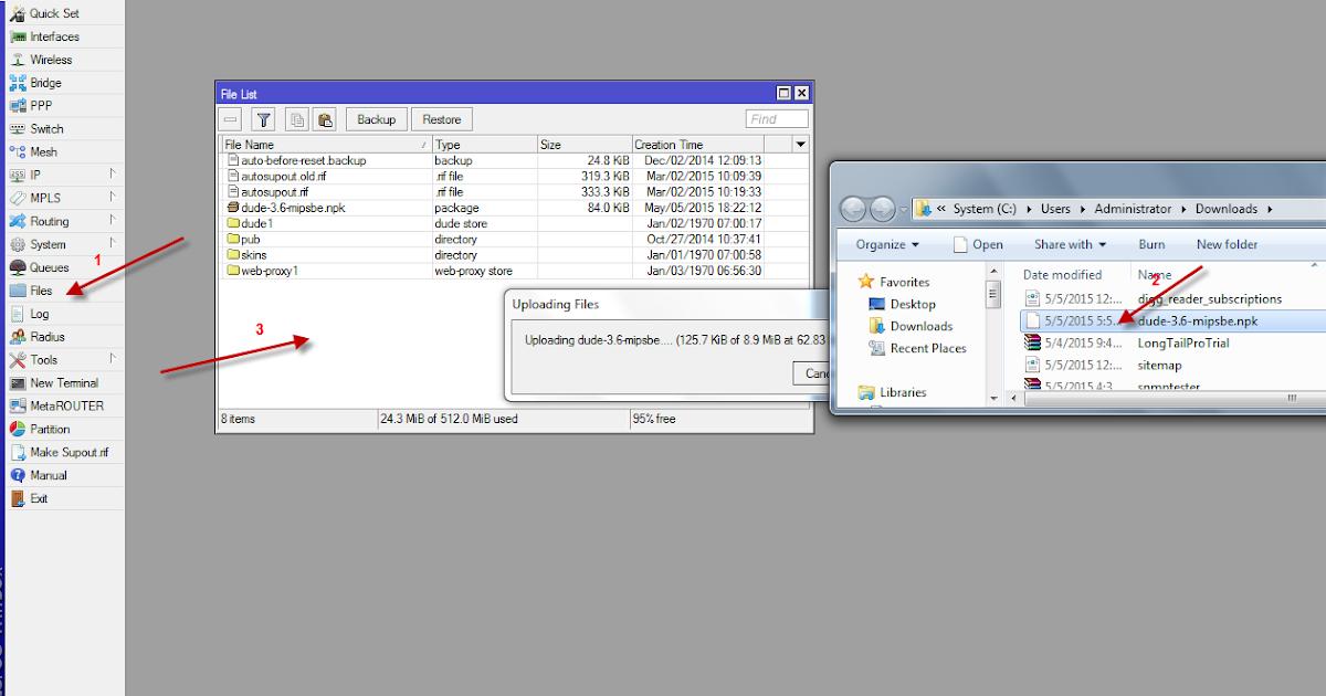 How to install dude on mikrotik router | Mikrotik Tutorial