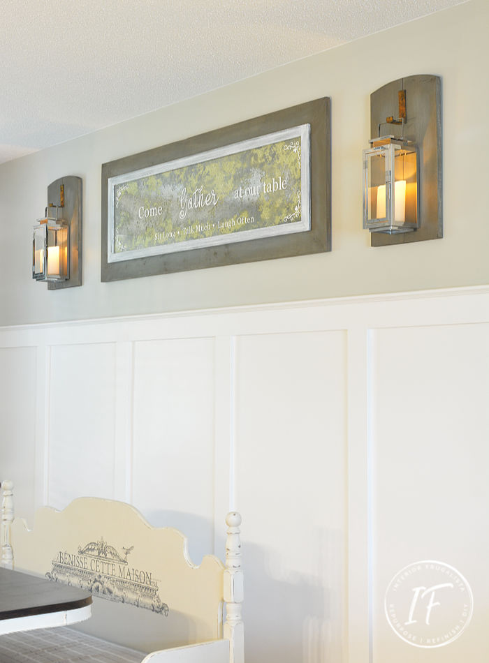 Modern Farmhouse Lantern Sconces