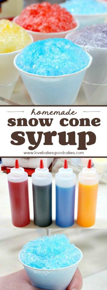 Homemade Snow Cone Syrup Summerdessertweek  Love Bakes -9096