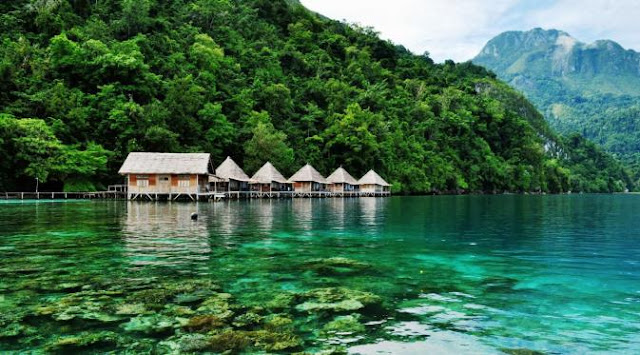 Maluku also has a natural beauty that is no less beautiful