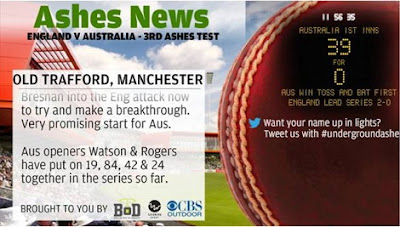 Ashes News