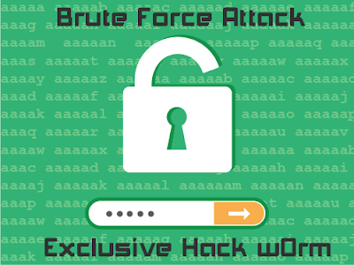 BRUTE FORCE (Tool untuk melacak login pengguna)