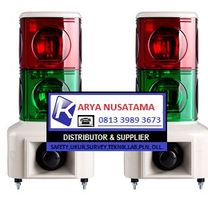 Jual Warning Light Industri MSGS 2 Lampu di Makasar