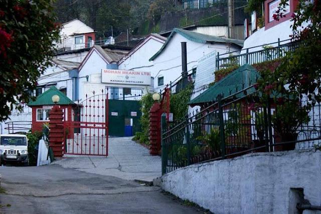 Kasauli Attraction : Kasauli Brewery