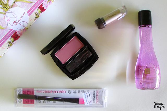 O que veio na minha NatimusBox Makeup de julho?