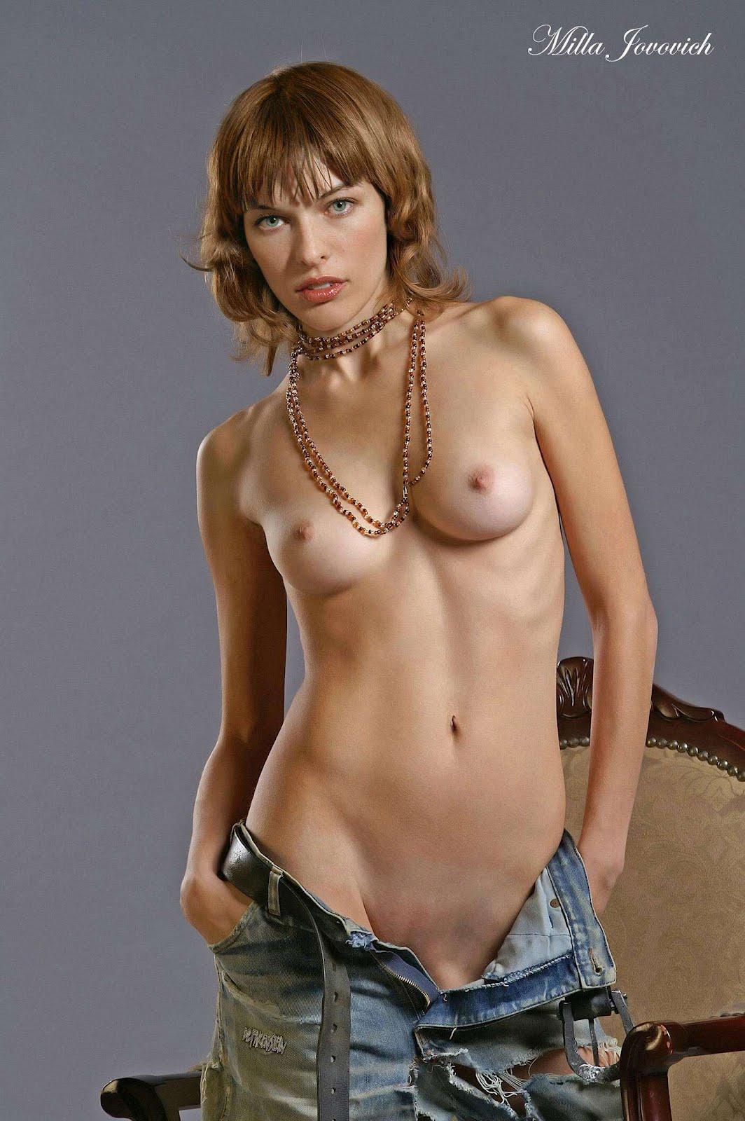Milla Jovovich Nude Gallery