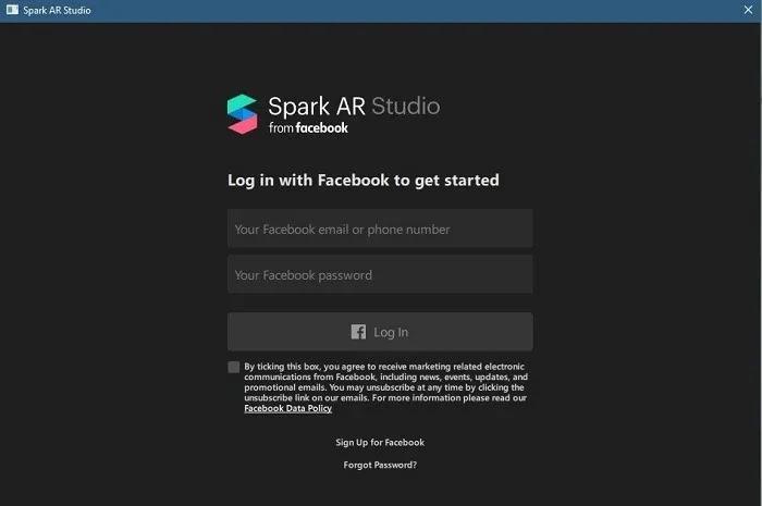 كيفية عمل مرشح Instagram مخصص سجل الدخول إلى حساب Facebook