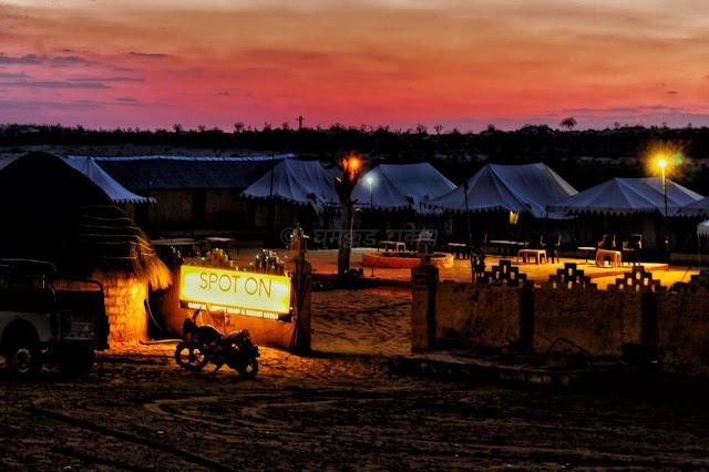 desert camp, khuri