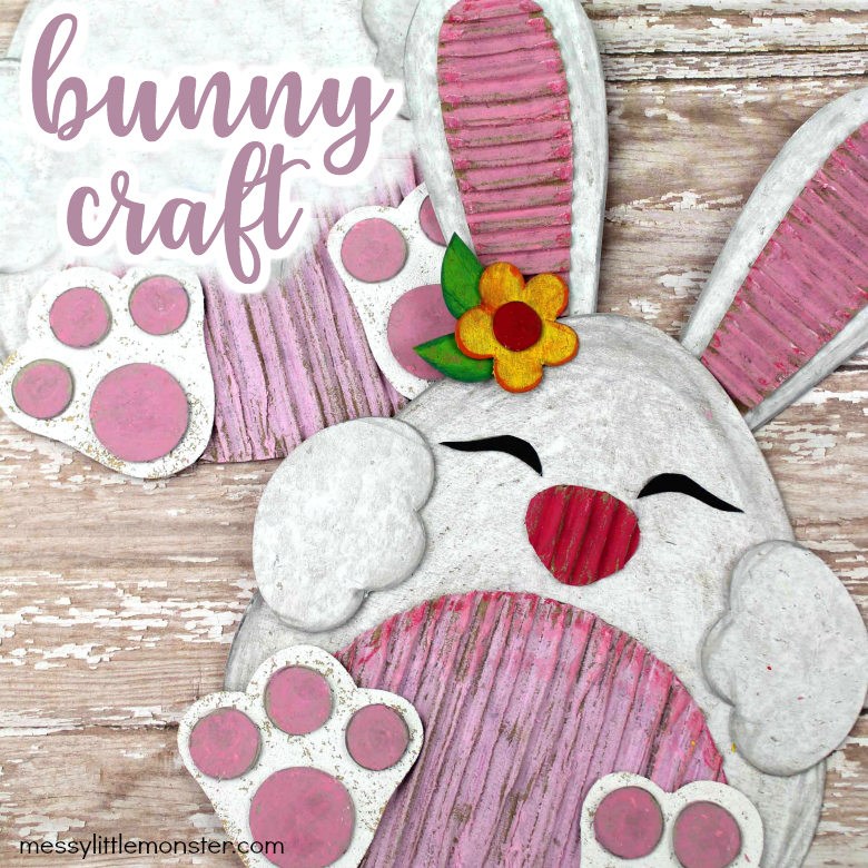 cardboard bunny craft