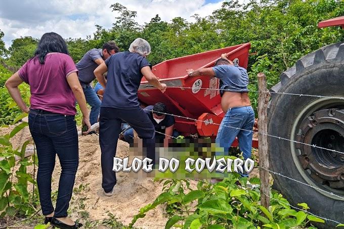 Operador de máquinas pesadas morre em acidente de trabalho em Cocal
