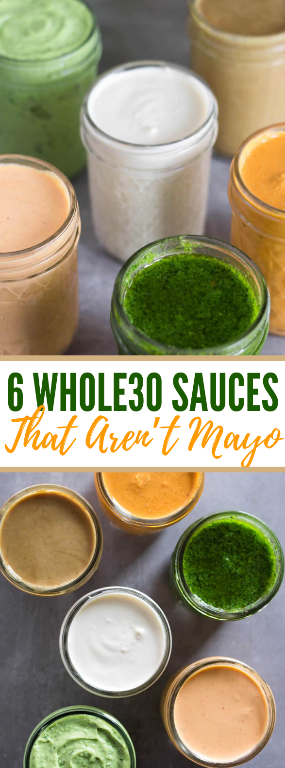 6 WHOLE30 SAUCES THAT AREN'T MAYO #healthy #paleo