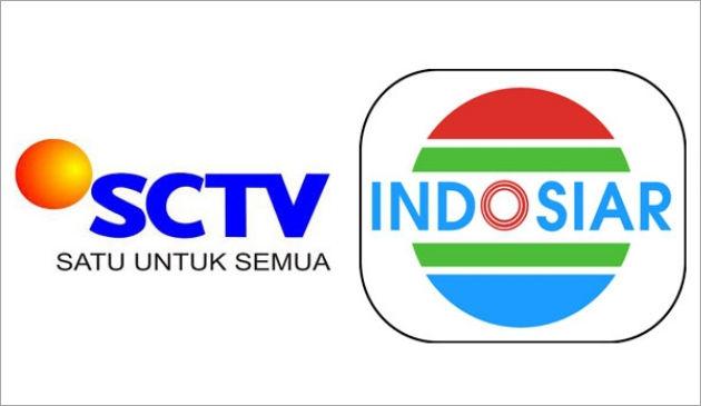Logo SCTV dan Indosiar