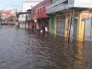 Chuvas agravam a situação em Trizidela do Vale.