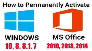 activate windows microsoft office 2010