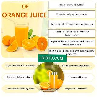 Benefits Of Orange Juice