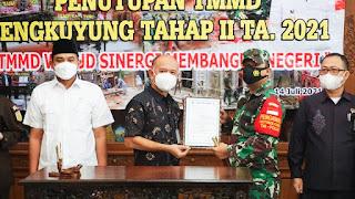 Program Tentara Manunggal Membangun Desa Tahap II Jepara Resmi Ditutup