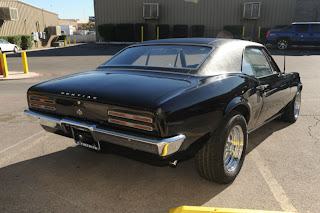 1967 Pontiac : Firebird Trans Am Triple Black