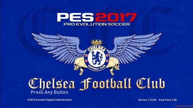 PES 2017 Chelsea Graphic Menu